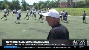 New Rochelle Parents Irate Over Suspensions Of Varsity Football Coach [Video]