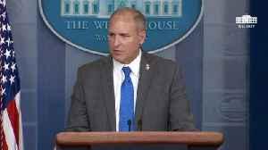 CBP Chief Mark Morgan Confirms All Border Wall Built So Far Replaces Existing Barrier [Video]