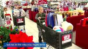 WEB EXTRA: 7-Year-Old Cancer Survivor Gets Gifts For Cancer Patients [Video]