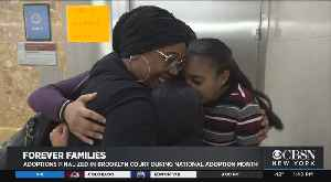 Dozens Of Foster Kids Get Adopted In Special Ceremony; More Adoptive Families Are Needed [Video]