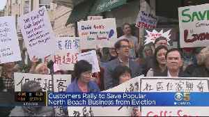 Cafe In San Francisco's North Beach Tries To Fight Off Eviction [Video]