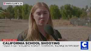 'We Aren't Targets': Students React After Calif. School Shooter Kills Two Classmates [Video]