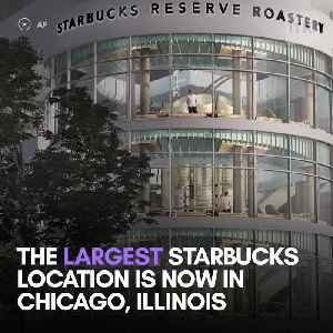 This is the world's largest Starbucks [Video]