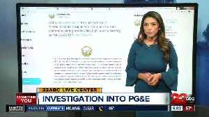 California PUC Launches Investigation into Power Shutoffs [Video]