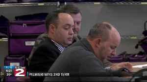 palmieri gets 3rd term [Video]