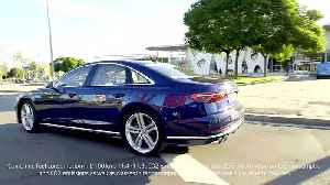 Exhilarating performance in the luxury class - The new Audi S8 [Video]
