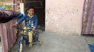 Six-year-old 'born with tail' in India believed by locals to be holy reincarnation [Video]