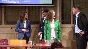 Hungary minister Judit Varga clashes with Dutch MEP in debate on European values [Video]