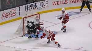 Kings mount late rally for OT win against Red Wings [Video]