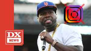50 Cent Tweets Absolute Randomness After Instagram Account Gets Shut Down [Video]
