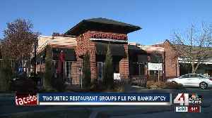 Two KC restaurant groups file for bankruptcy [Video]