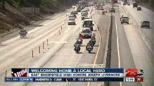 Welcoming home a local hero [Video]