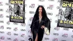 Rihanna steals the show at 'Queen & Slim' Los Angeles premiere [Video]