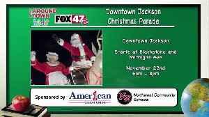 Around Town Kids - Downtown Jackson Christmas parade - 11/15/19 [Video]