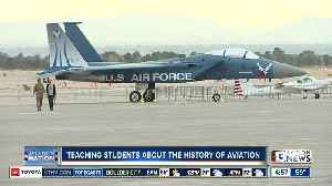 Teaching students about the history of aviation [Video]