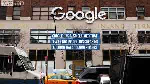 Google Plans to Offer Checking Accounts Next Year [Video]