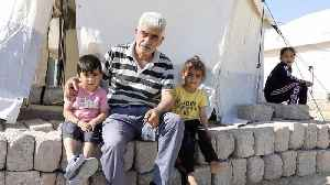 News video: Kurdish Refugees React To Turkish Military Operation