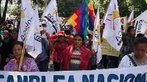Dozens protest in support of former Bolivian president Evo Morales in Guatemala [Video]