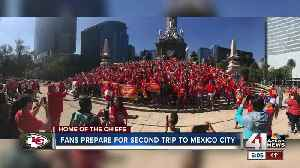 Chiefs fans hoping for better luck in Mexico City this year [Video]