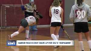 Barker Field Hockey Gears up for State Tournament [Video]