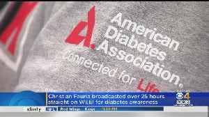 Christian Fauria Broadcasted For Over 25 Hours Straight On WEEI For Diabetes Awareness [Video]