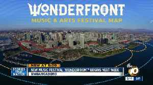Wonderfront Festival to use boats to ferry concertgoers across 10 stages [Video]