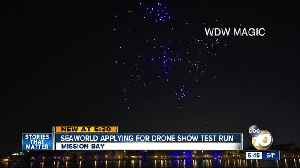 SeaWorld planning for aerial drone show test run [Video]