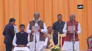 10 Ministers take oath in Haryana cabinet [Video]