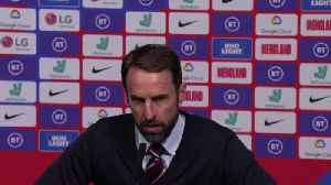 News video: Southgate delighted with defeat of Montenegro