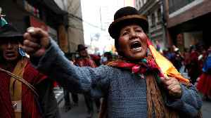 Bolivia unrest: Morales' supporters reject interim President Anez [Video]