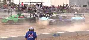 Sin City Showdown demolition derby in Las Vegas this weekend [Video]