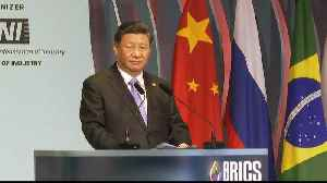 BRICS summit: China warns against 'protectionism, bullying'