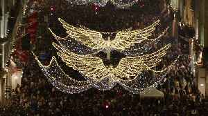 Regent Street's Christmas lights switched on [Video]