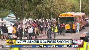 Motive unknown in California high school shooting [Video]