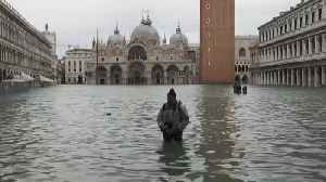 Water levels rise again in Venice as state of emergency declared after flooding [Video]