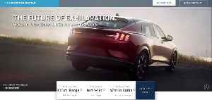 Ford Mustang Mach-E web page leak [Video]