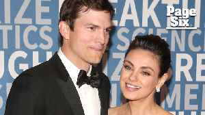 Mila Kunis and Ashton Kutcher: Kids, marriage and their famous exes [Video]