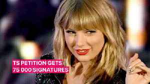 You can sign the Taylor Swift petition against Scooter Braun [Video]