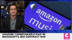 Amazon Alleges Trump Administration Pressure Influenced JEDI Contract Decision [Video]