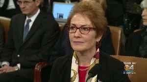 Former Ukraine Ambassador Testifies In House Impeachment Inquiry [Video]