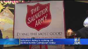 Salvation Army Red Kettle Drive Begins [Video]
