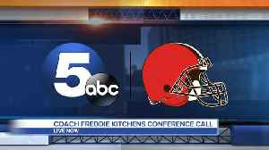 Head coach Freddie Kitchens holds conference call [Video]