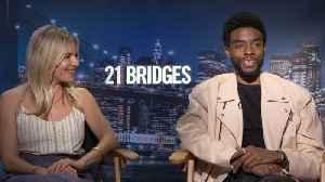 Chadwick Boseman, Sienna Miller Talk '21 Bridges' [Video]