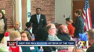 West End man receives Veteran of the Year award [Video]