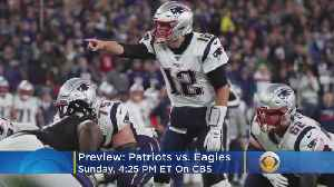 Eagles And Patriots Square Off In Super Bowl LII Rematch [Video]