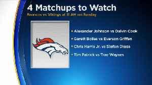 Broncos vs. Vikings Game: 4 Matchups To Watch [Video]