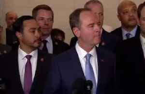 News video: It's a 'pattern' by Trump to intimidate witnesses: Schiff