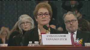 Center Stage At Impeachment Hearing: Marie Yovanavitch [Video]