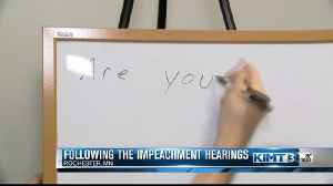Impeachment hearings: Day one [Video]