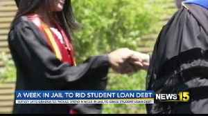 Survey: College Grads Would Spend Week in Jail to Erase Student Loan Debt [Video]